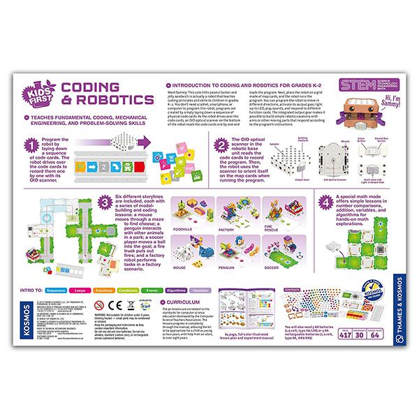 Thames and Kosmos Coding and Robotics Kit