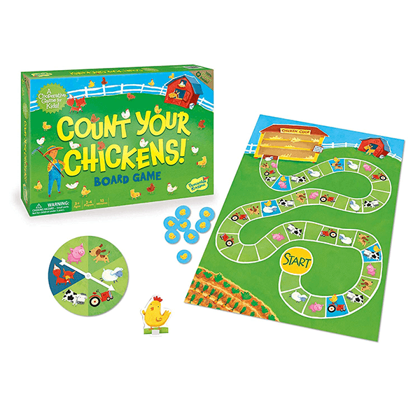 Peaceable Kingdom Count your Chickens Game