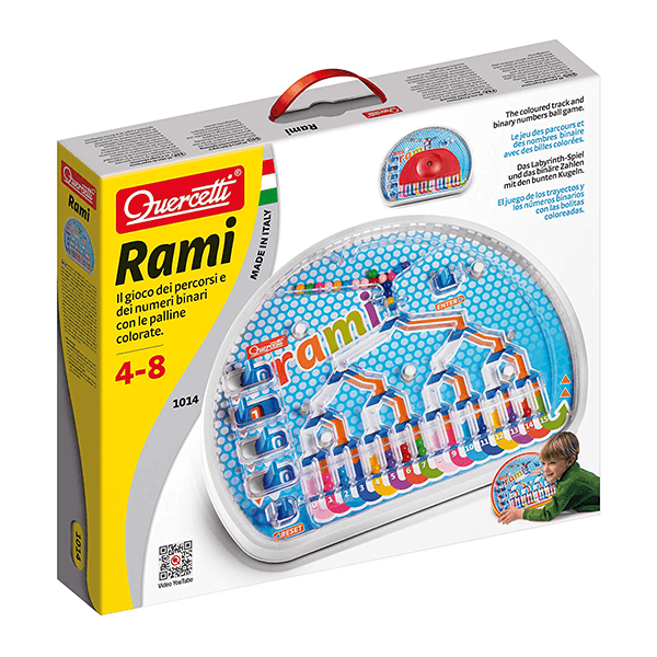 Quercetti Rami Code Game by JR Company