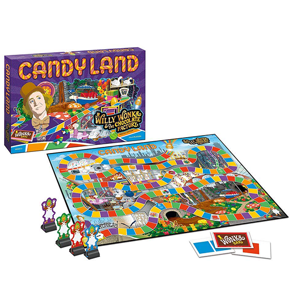 USAopoly Willy Wonka Candy Land
