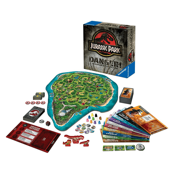 Ravensburger Jurassic Park Danger Game