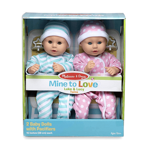 Melissa & Doug Luke & Lucy Mine to Love Twins