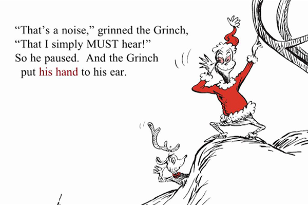 The Grinch Who Stole Christmas Book.How The Grinch Stole Christmas Book