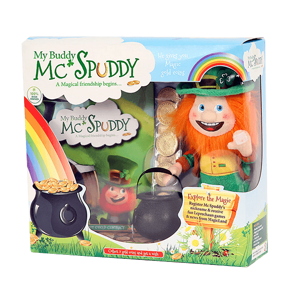 My Buddy McSpuddy Storybook