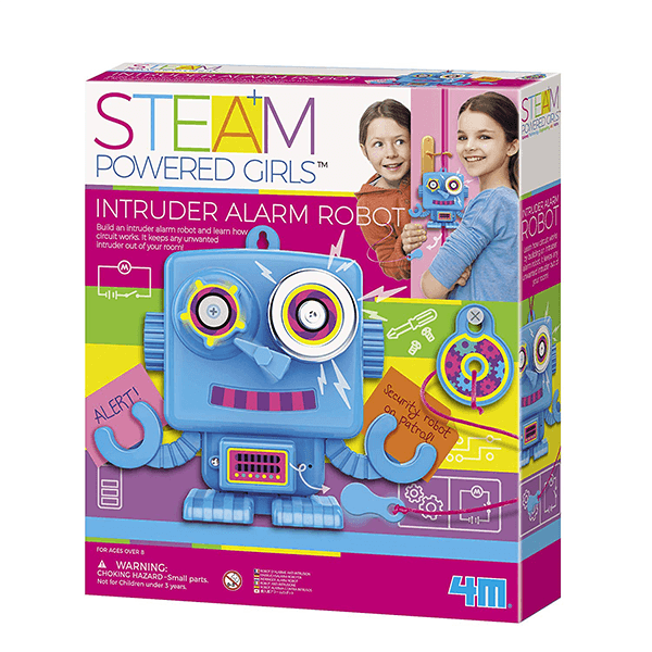 4m Steam Girls Intruder Alarm Robot