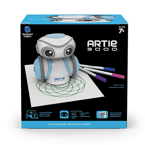 Educational Insights Artie 3000 the Coding Robot