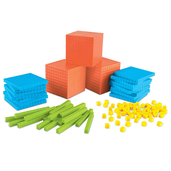 Learning Resources Brights Base Ten Class Set