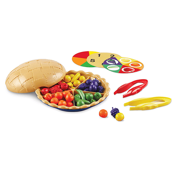 Learning Resources Super Sorting Pie Set