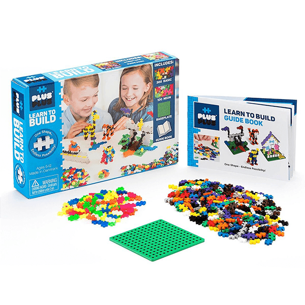 Plus-Plus Learn to Build Basic Kit
