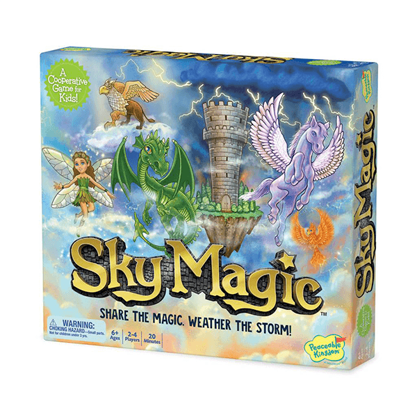 Peaceable Kingdom Sky Magic Game