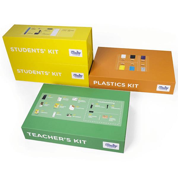 3Doodler EDU Create Learning Pack, 6 Pens