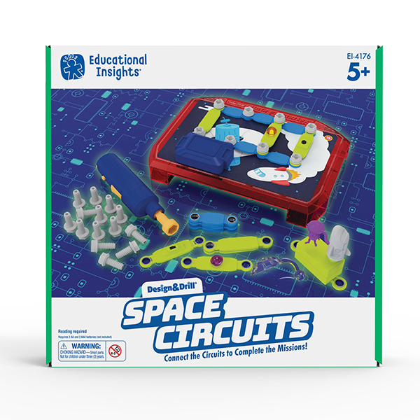 Educational Insights Design & Drill Space Circuits
