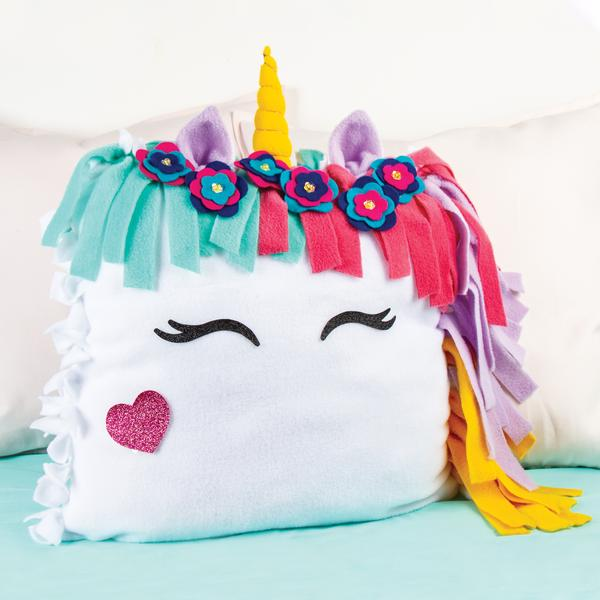 Make It Real GoldieBlox DIY Glowing Unicorn Pillow