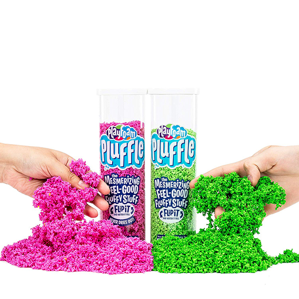 Educational Insights Playfoam Pluffle Pink/Green 2 Pack