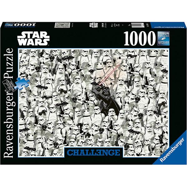 Ravensburger Star Wars 1000 Piece Challenge Puzzle