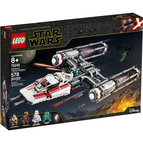 LEGO® Star Wars™ 75249 Resistance Y-Wing Starfighter™