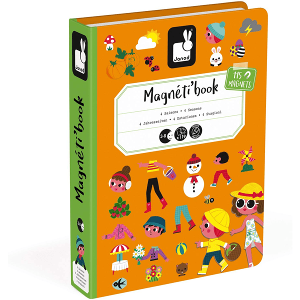 Janod Magneti' Book 4 Seasons