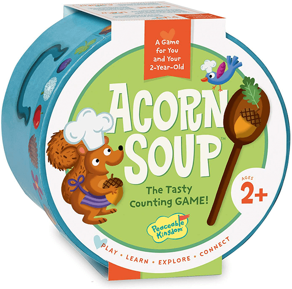 Peaceable Kingdom Acorn Soup Game