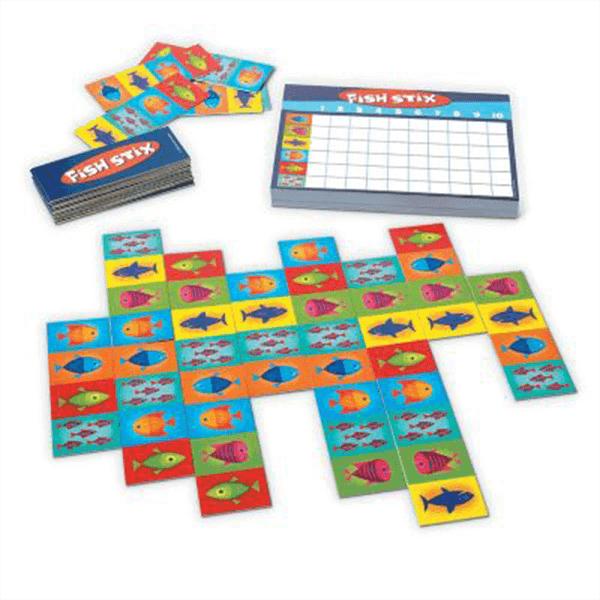 Peaceable Kingdom Fish Stix Board Game