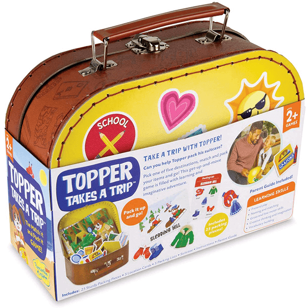 Peaceable Kingdom Topper Takes a Trip Game