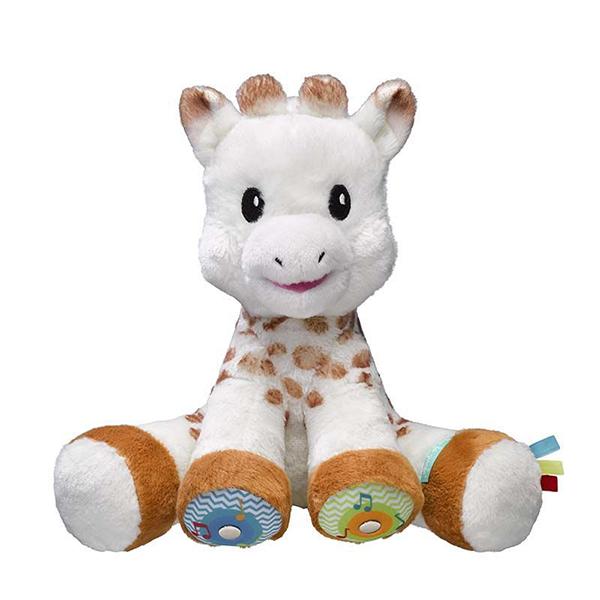 Sophie Touch Musical Giraffe Plushie