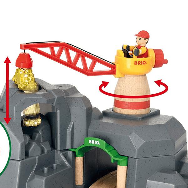 Brio World Crane & Mountain Tunnel