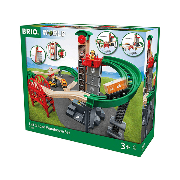 Brio World Lift & Load Warehouse Set