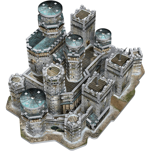 Wrebbit 3d Game Of Thrones Winterfell 3d Jigsaw Puzzle Jr Toy Company