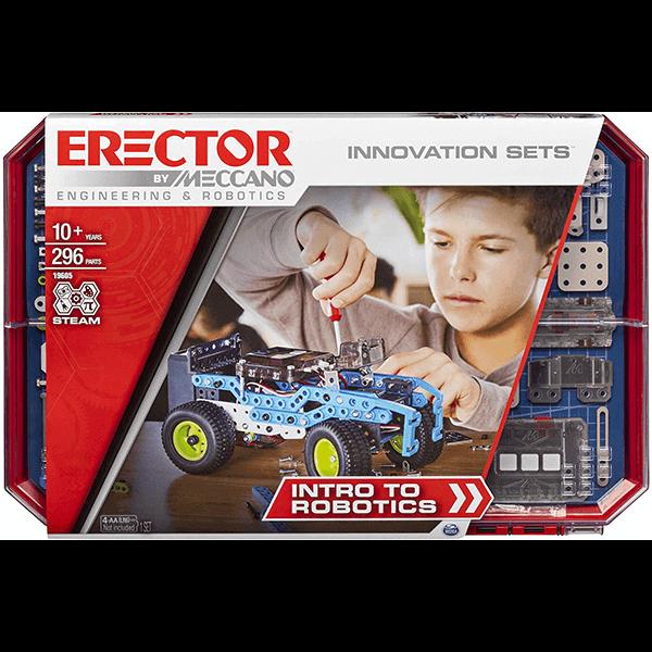 Meccano Erector Intro to Robotics Building Kit