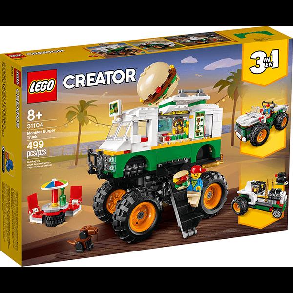 LEGO® Creator 3-in-1 31104 Monster Burger Truck
