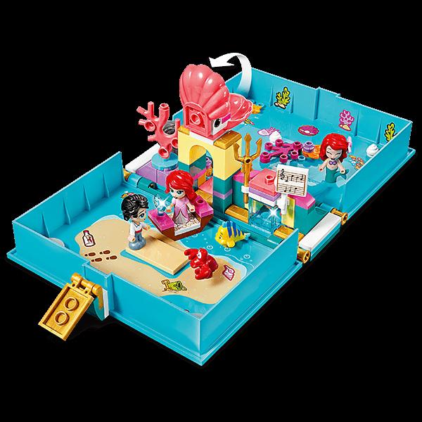 LEGO® Disney 43176 Ariel's Storybook Adventures
