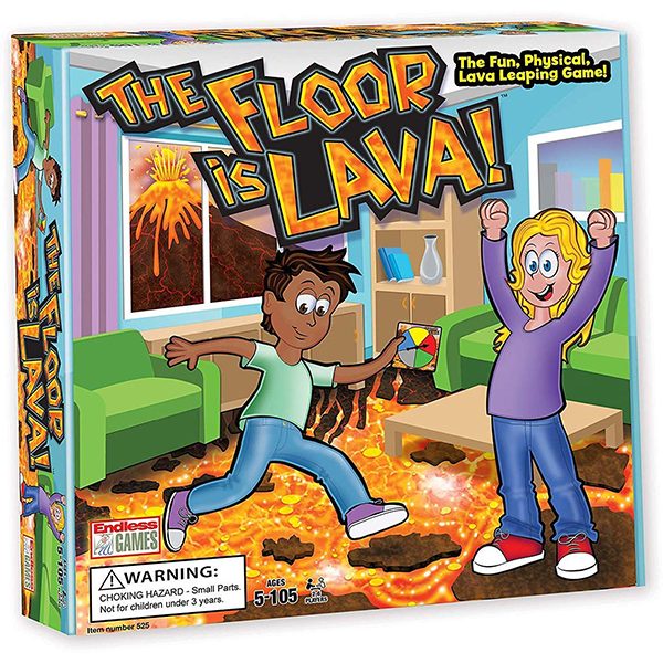 Endless Games The Floor Is Lava Game