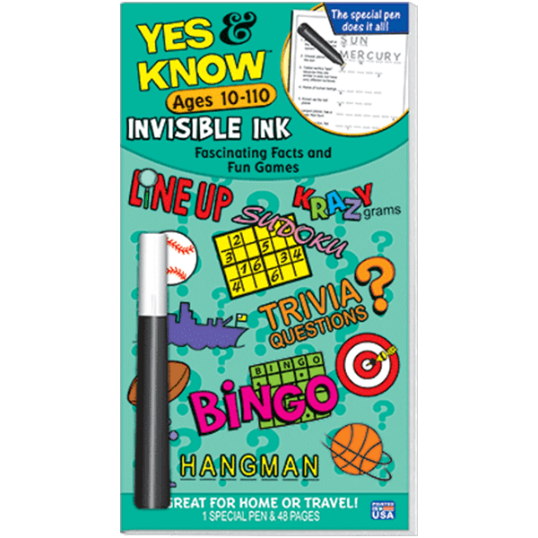 Yes and Know 10-110 Trivia Game