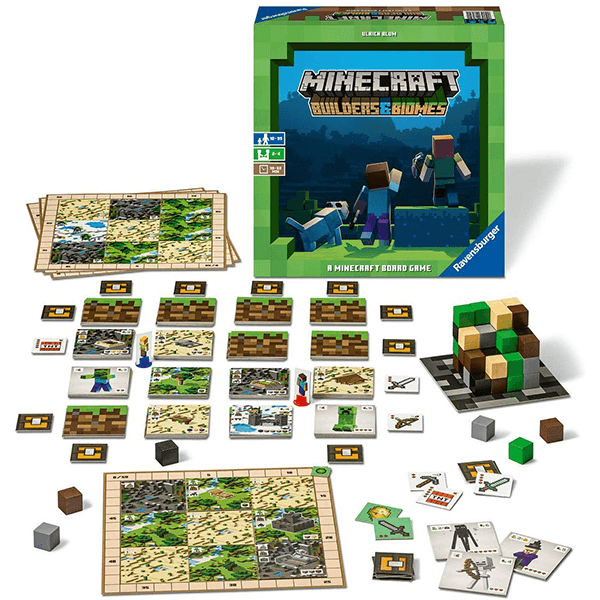 Ravensburger Minecraft: Builders & Biomes Board Game