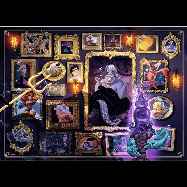 Ravensburger Disney Villainous Ursula 1000 Piece Jigsaw Puzzle
