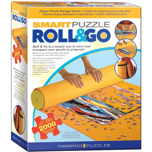 Eurographics Roll & Go Jigsaw Puzzle Mat (Fits up to 2000 Pieces)