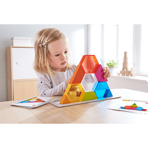 Haba Stacking Game Colour Crystals
