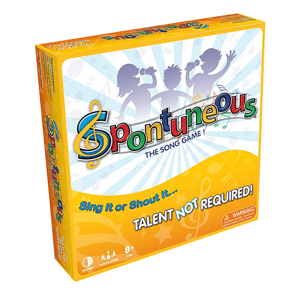 Spontuneous The Song Game - Sing It or Shout It, Talent NOT Required!