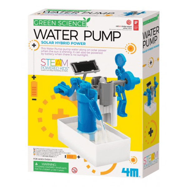 4M Solar Hybrid Power Water Pump