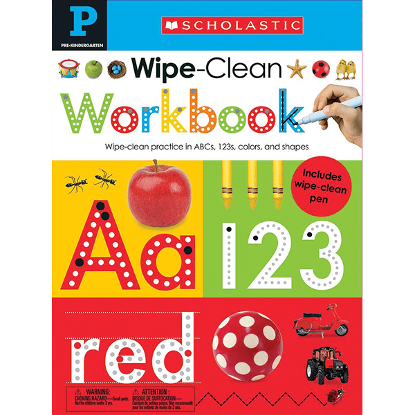Scholastic Early Learners: Wipe Clean Workbooks - Pre-K: Alphabet