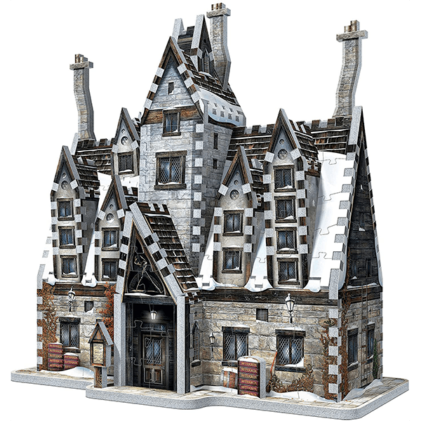 Wrebbit 3D Harry Potter Hogsmeade The Three Broomsticks Jigsaw Puzzle 395 Pieces