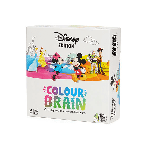 Big Potato Games Disney Colour Brain Family Quiz Game