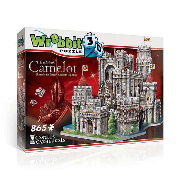 Wrebbit 3D King Arthur's – Camelot Jigsaw Puzzle