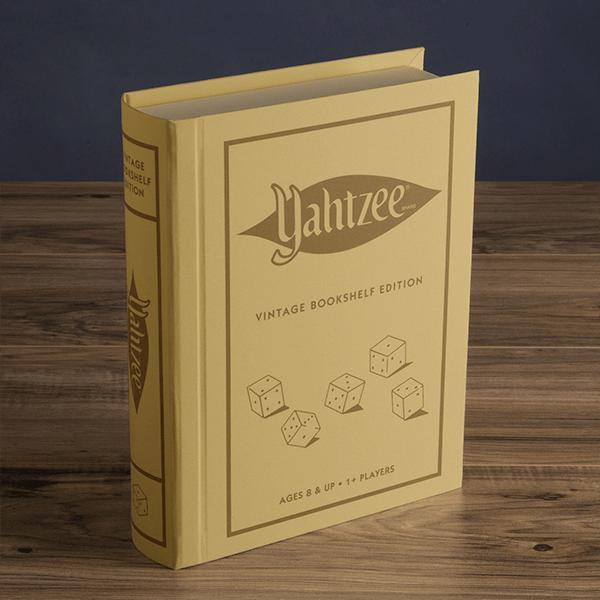 Yahtzee Vintage Bookshelf Edition