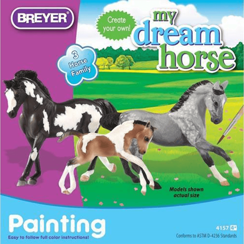 Breyer My Dream Horse - Horse Family Painting Kit