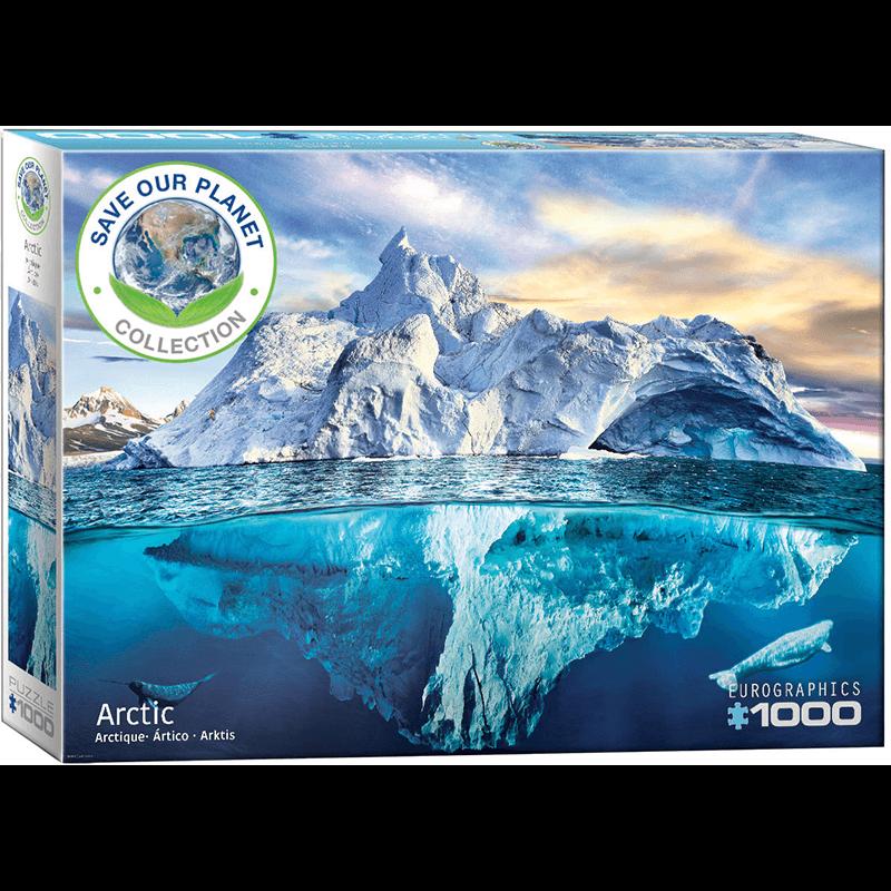 EuroGraphics Arctic 1000 Piece Puzzle