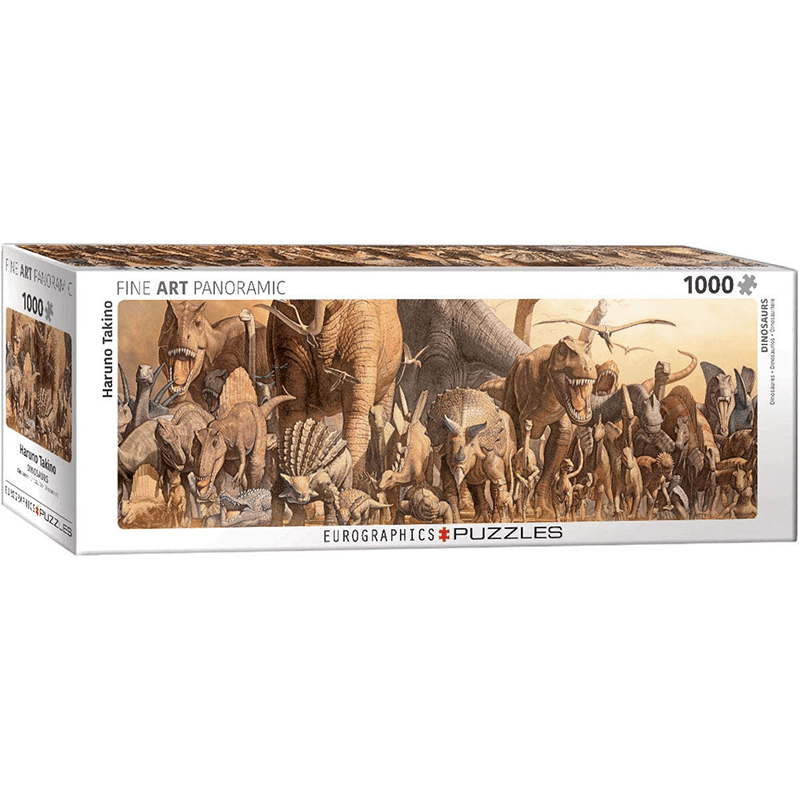 EuroGraphics Dinosaurs by Haruo Takino 1000 Piece Puzzle