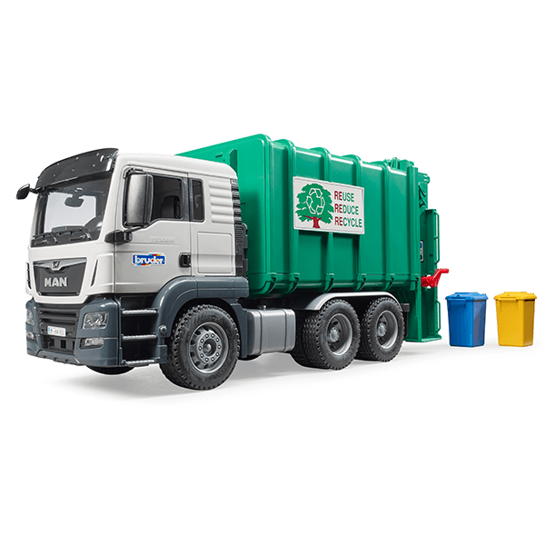Bruder MAN TGS Rear-Loading Garbage Truck