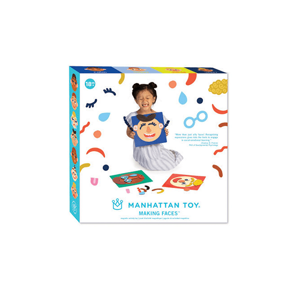 Manhattan Toy Making Faces Magnetic Set