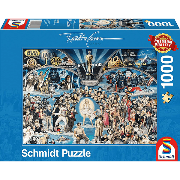 Schmidt Renato Casaro Hollywood 1000 Piece Jigsaw Puzzle